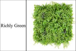 Искусственные растения Китая оптовые искусственного зеленой траве стены Palnt стены с УФ