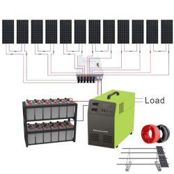 HouseのためのGrid 10kw Solar System Home 10kVA Solar Energy 10000W Solar Panelを離れて完了しなさい