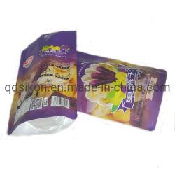 カスタマイズされたOPP/Al/CPPによって乾燥されるマンゴのジッパーのプラスチック包装袋