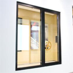 Térmico de aluminio Custom roto la ventana de Casement con vidrio