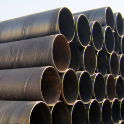 Water OilおよびGasのためのSpiral Welded Steel Pipe API 5L X42 X52 X56 X60 SSAW Steel Pipeline Large Diameter Carbon氏