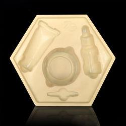 China Cosmetics Kunststoff-Blisterpackung für die kosmetische Flockbox