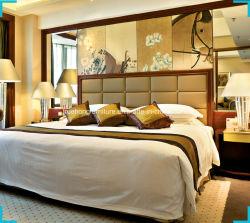 Madeira maciça de 5 estrelas Hotel Quarto Set Hilton Hotel Mobiliário Projeto Custom Hotel quarto conjunto de móveis Hotel fabricante de móveis