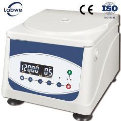 デスクトップのマイクロ血液銀行の医学のヘマトクリットの毛管及びPCRの遠心分離機(TG12)