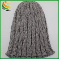 Cappello lavorato a maglia blu su ordinazione della cuffia di Bluetooth di promozione corrente calda di musica