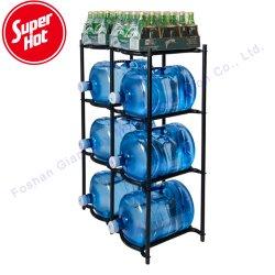 3 5 جالون معدنيّة موزّع ماء عرض تخزين حامل زجاجة حامل قفص