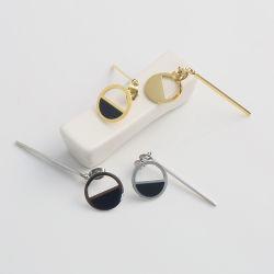 Usine de bijoux de mode de gros Custom boucles longs en acier inoxydable