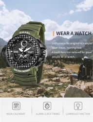 2019 Latstest Digit-Analogue deportivo reloj con 5ATM Water-Resistant