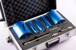 Broca de bits do núcleo do orifício de diamante conjuntos de kits de serra