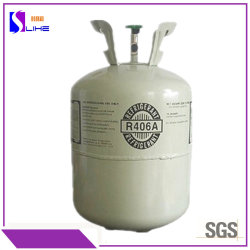 13,6kg/30lb de enfriamiento rápido de mejor calidad de freón Gas refrigerante R406A