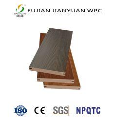 ASA-PVCの共押出し固体屋外の木製のプラスチック合成物WPCのDeckingのフロアーリング
