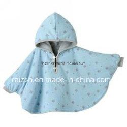 Полярной флис малыша Poncho/одеяло с кожухом