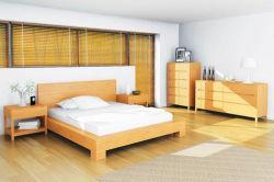 Prueba de humedad de madera contrachapada de tapizado de la habitación de hotel Habitación Doble conjuntos de muebles