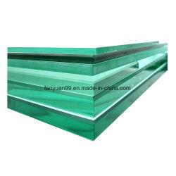 زجاج شفاف الألوان مقوى 6.38 مم 6.76 مم 8.38 مم 8.76 مم
