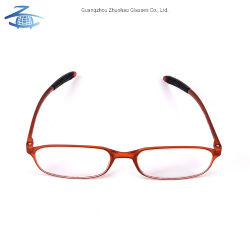 Venda por grosso de venda quente Personalizar o projeto pessoal Leve Soft Tr90 Óculos de Leitura Óptica Homens Mulheres
