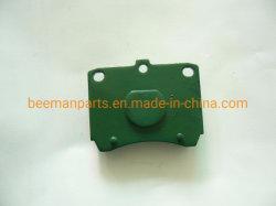 Fabricante China Auto de alta calidad Las piezas de metal Semi pastillas de freno de disco para KIA Pride