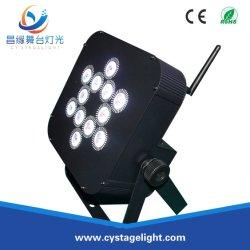 12X10W 4-в-1 Quad-Square тонкий этапе индикатор беспроводной промойте PAR лампа