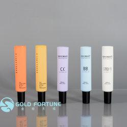 Tube en aluminium vides de haute qualité PE plastique avec bouchon à vis du tube de cosmétiques Flip Top Cap