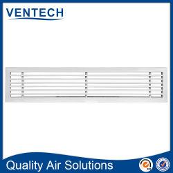 Traliewerk van de Lucht van de Staaf van Aluninum van de Lucht van Suplly van de Terugkeer van het Traliewerk van het Plafond van de Airconditioner HVAC het Lineaire voor Ventilatie
