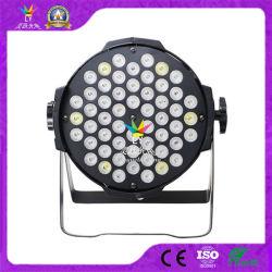 54X3w RGB DMX 스테이지 조명 실내 LED PAR64