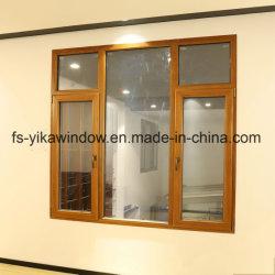 Yika Produit principal en bois de teck et de la fenêtre à battant composites en aluminium