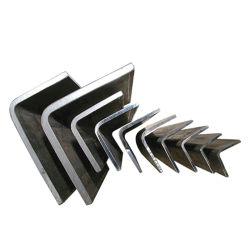 Barre piatte in acciaio Q235 carbonio/acciaio inox/zincato a L di alta qualità, uguali E prezzo angolare in acciaio non uguale per la struttura di costruzione