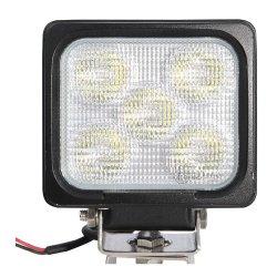 """Proiettore a LED automatico quadrato da 5"""" e 50 W approvato EMC da 12 V/24 V. Per il mining"""