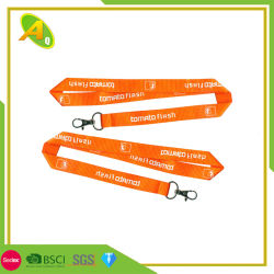 Medalla Nnylo Tarjetahabiente Cable USB Lanyard impreso Lanyard personalizado medalla más barata (093)
