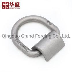 Preto de fábrica de aço carbono gota forjou a fustigar a D o anel com o aparelho Clip