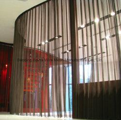ホテルのカーテンは部屋ディバイダの金属スクリーンの金属の網を選別する
