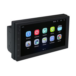 "7 "" Touch Screen 2 LÄRM 1024*600 multimedia-Spieler des Android-8.1 Radiodes auto-MP5 DVD Universal-GPS-Navigations-Selbstradiostereoaudio"