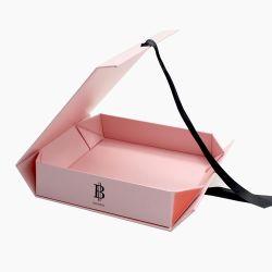 Cidade de Guangzhou rígidas de papelão cor-de-rosa de Natal de luxo Bridesmaid Dom magnético de papel de embalagem da caixa de perfume de embalagem/Jóias/Candle//chá/equipamento/vinho/Rose