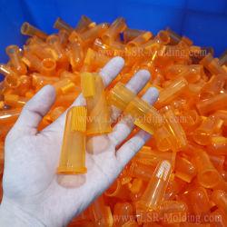 Toothbrush di dentizione della barretta del bambino dei neonati della gomma di silicone di sicurezza