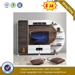 Salle de séjour de bureau moderne en bois MDF cercle de sélection de couleur TV Cabinet (UL-9L0080)