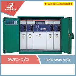 Sf6 het Gas 12kv/24kv/36kv isoleerde de Openlucht HoofdEenheid van de Ring met Bijlage