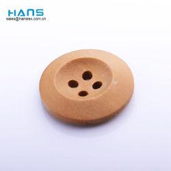Tasti di camicia di legno personalizzati OEM di nuovo stile di Hans