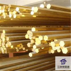 Tube en laiton barre creuse du tuyau de stock en alliage de cuivre solide hexagonal