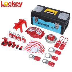Kit elettrici di Tagout di bloccaggio di sicurezza di Lockey Loto