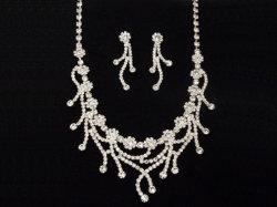 أفضل سعر أعلى جودة الأزياء قلادة العروس عقد مكبل المجوهرات تضع الماس الضخم للحزب الكبير