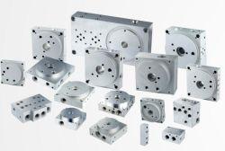 Maschinell bearbeitete Aluminiumventil-Verteilerleitungen für Hydraulikanlage-Gerät