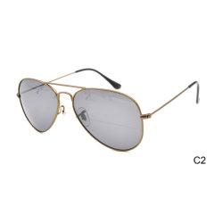 2019 Nuevo diseño de última moda gafas de sol Gafas de sol de Damas del bastidor de metal de China con el precio de fábrica