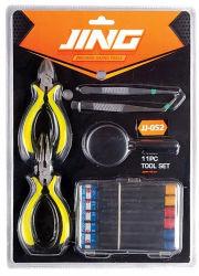 11pcs Pliertools establecer herramientas de mano de Juego de destornilladores herramientas de hardware/herramienta de corte