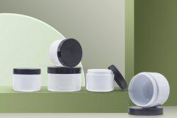 vaso crema impaccante cosmetico di colore personalizzato plastica semplice di 30ml/50ml PS