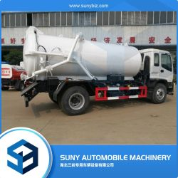Philipphines utilisé 4X2 Isuzu 12000L chariot d'aspiration des eaux usées de vide