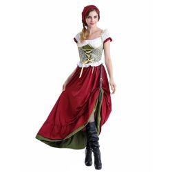 Halloweenのセクシーなランジェリーの衣裳のマスコットの大人のデザインの凝った服党供給の謝肉祭のドイツのOktoberfestビール女の子の衣裳