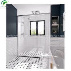 Hotel cuarto de baño Acero Inoxidable 304 cristal de vidrio templado mampara de ducha