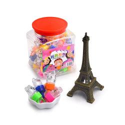 Divertido juguete de dedo el anillo de iluminación Candy