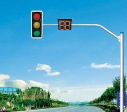 L'Autoroute de la signalisation routière et galvanisé à chaud signe de la route des postes