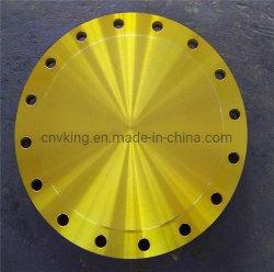 ASTM A182 Gr. F51 (UNS S31803) eine 6 Zoll-Kategorie 2500 ASME B16.5 JIS 2220 schmiedete blinden Flansch des Edelstahl-316L