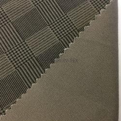 Pour Down Jacket tissu teint tissu tissé Nouveau design 261gsm plaine de style de vie Qualité microfibre 100% polyester résistant à l'eau